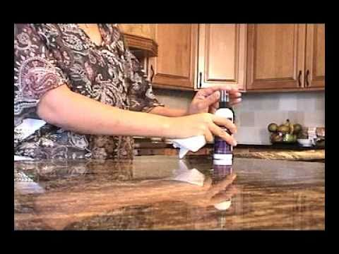 Sealing Granite Countertops : DIY HOW TO SEAL GRANITE COUNTERTOPS, Sealing Granite Countertops Made ...
