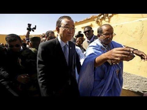 """المغرب يستنكر بشدة تصريحات """"بان كي مون"""" بخصوص الصحراء المغربية"""