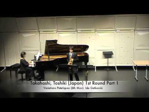 Takahashi, Toshiki Japon 1st Round Part 1