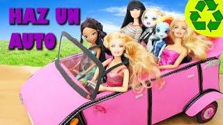 Manualidades para niñas - Cómo hacer un automóvil  para tu muñeca
