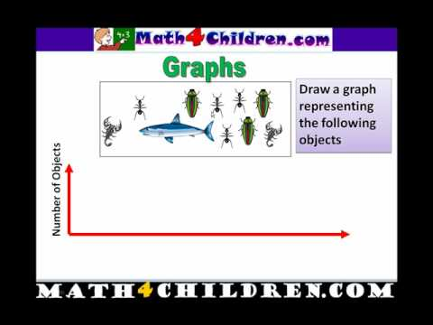 Graphs, Math Lesson for Kids, Drawing Graphs - math4children.com