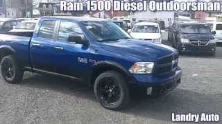 2014 Ram 1500 Diesel Outdoorsman à Vendre Montréal