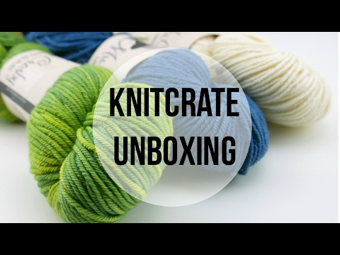 KnitCrate Unboxing, Giveaway, Promotion Code!  Episode 386