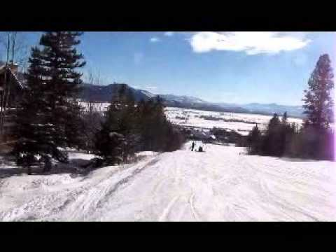 Fast Skiing At Jackson Hole, Wyoming Dec '13