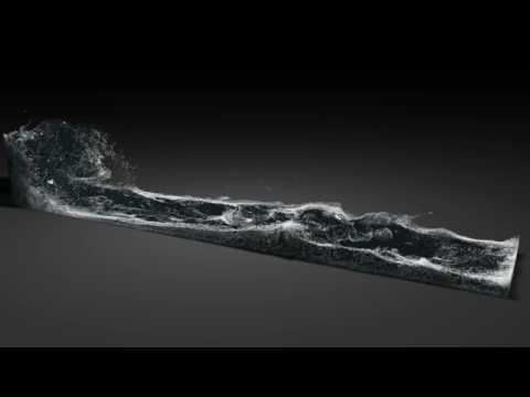 Foam _ T1 ( New Script, Realflow 4 , Final Render )
