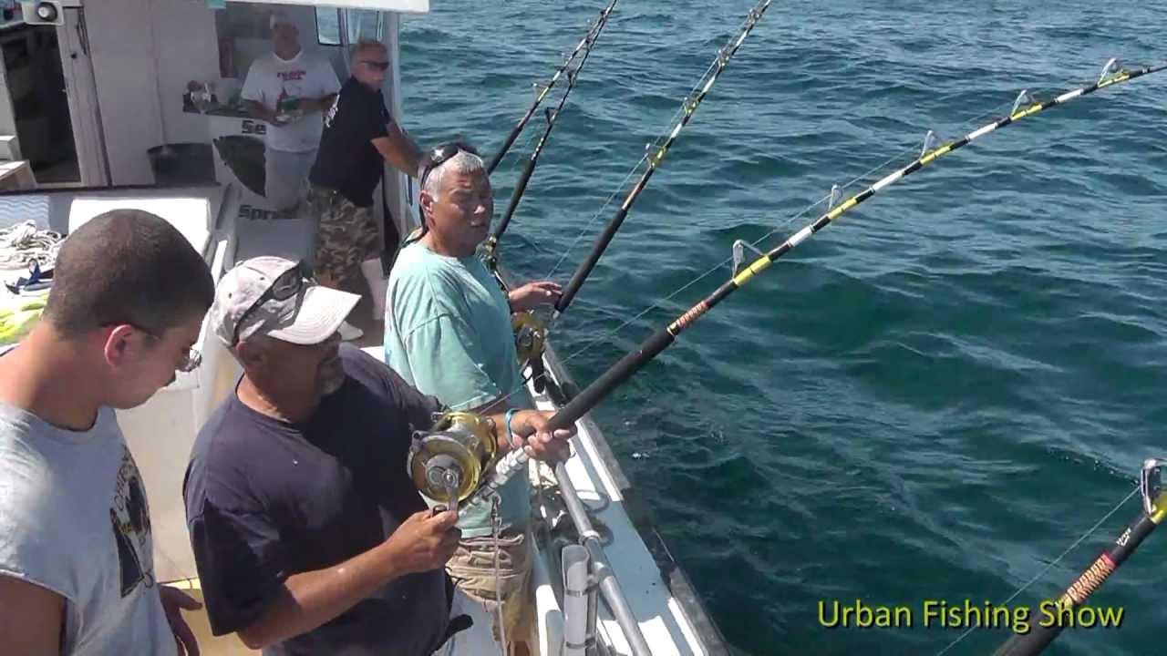 Montauk shark tournament 2012 urban fishing show season 2 for Montauk shark fishing