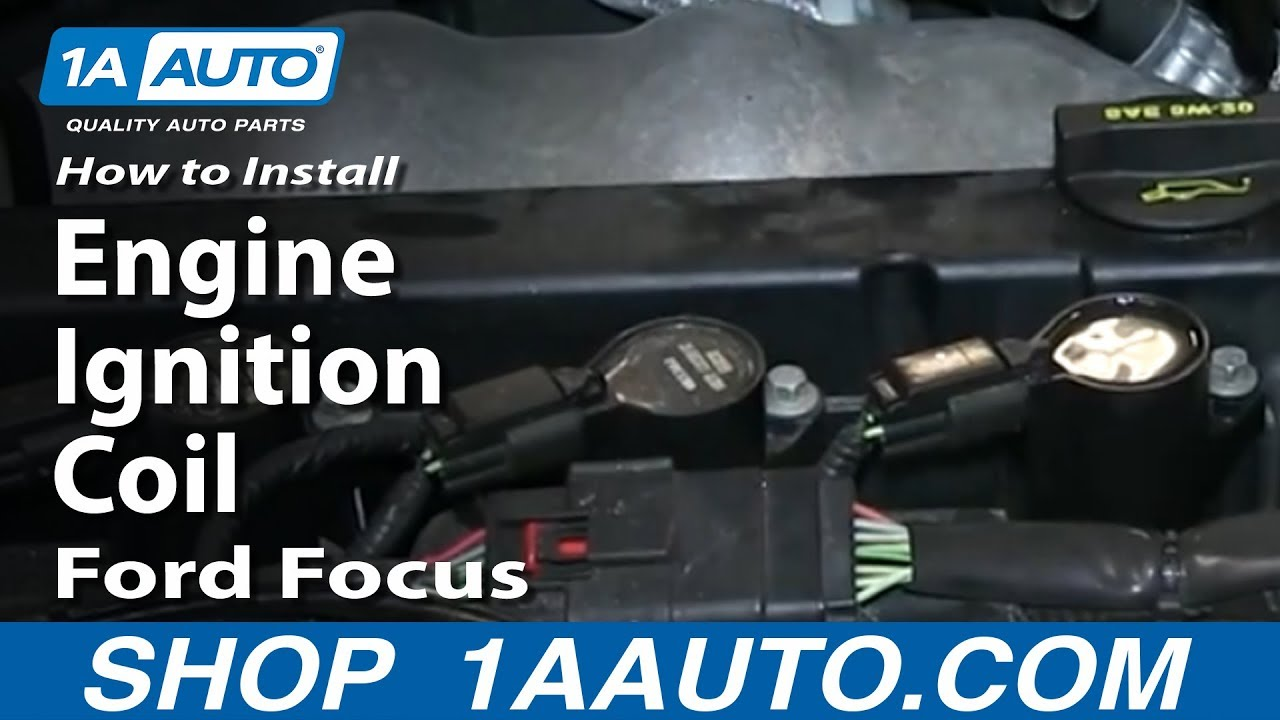 How To Install Replace Engine Ignition Coil 2003-11 Ford ...