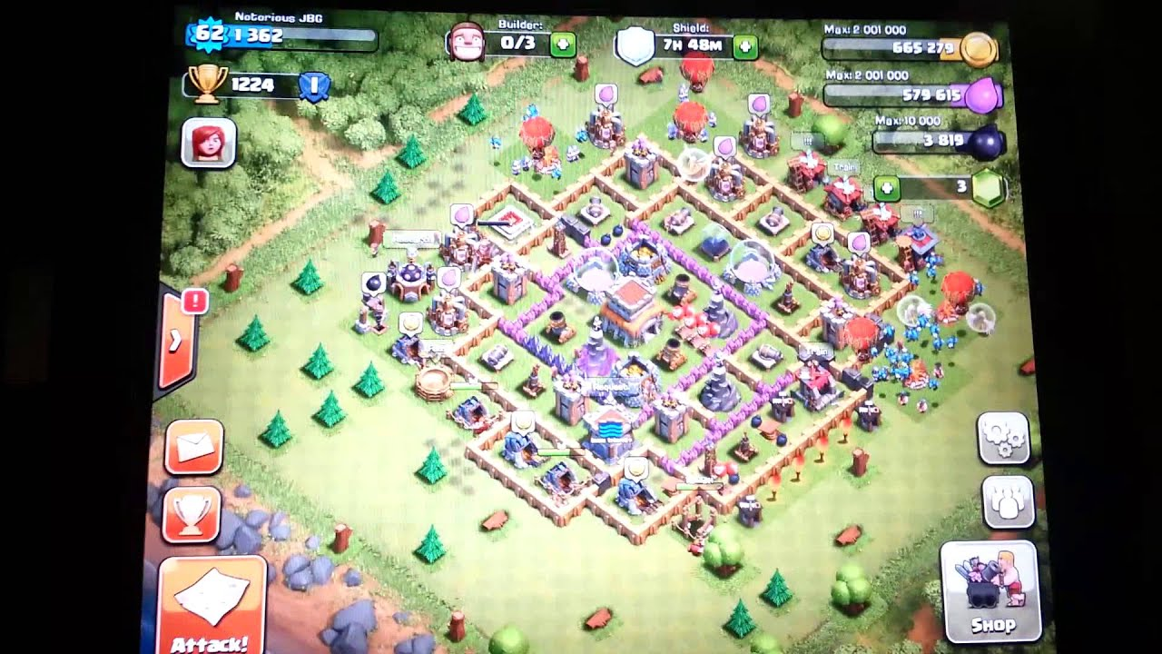 Clash of Clans Best Defense Town Hall 8 Setup