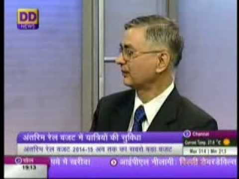 INTERIM RAIL BUDGET 2014   Financial Commissioner, Railways