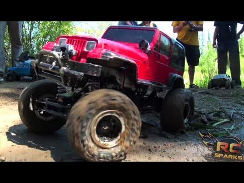 RC ADVENTURES - TTC - 3 of 5 - TUG oF WAR - TOUGH TRUCK CHALLENGE 2011