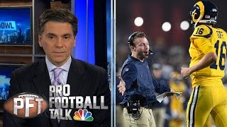 Sean McVay getting most out of Jared Goff, Rams offense I Pro Football Talk I NBC Sports