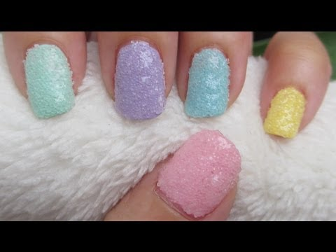 Salt Nail Art Nail Degins 3d Video