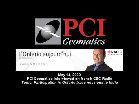 "PCI Interviewed on Canada's french CBC Radio show, ""Ontario aujourd'hui"" May 14, 2009"