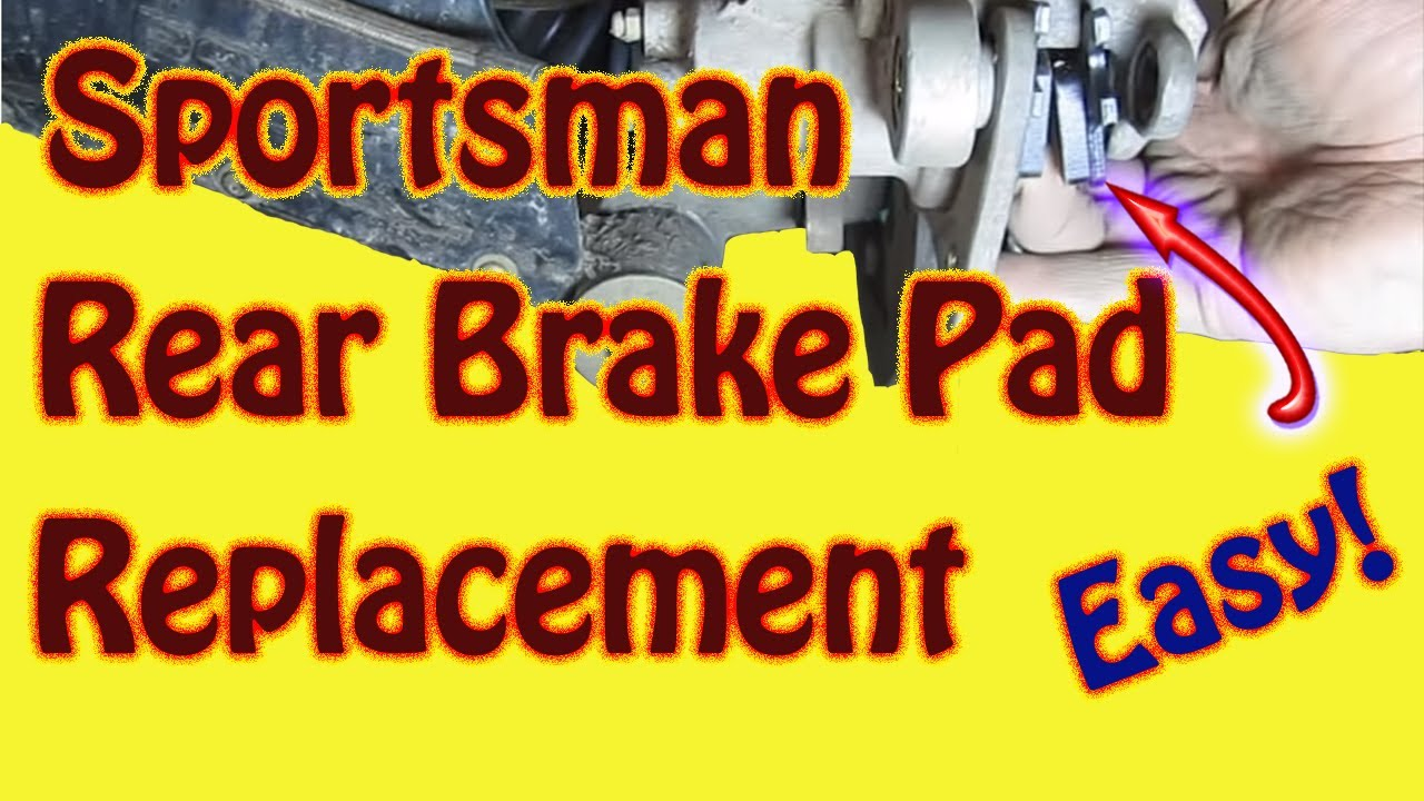 suzuki quadrunner 300 wiring diagram how to replace rear brake pads on a 2003 polaris sportsman  how to replace rear brake pads on a 2003 polaris sportsman