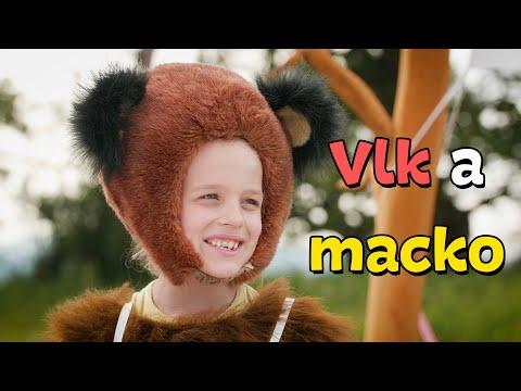 Smejko a Tanculienka - Vlk a macko