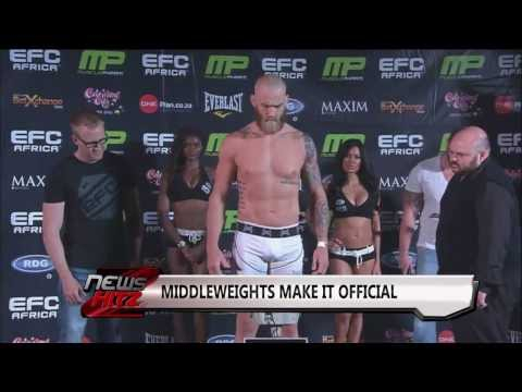 Fight Now TV News Hitz - EFC Africa 24, Sam Alvey and Bellator 105