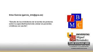 Doctorado IBMC - Estudio del Efecto de los Inhibidores de la Bomba de Protones