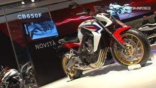 Présentation Honda CB 650 F