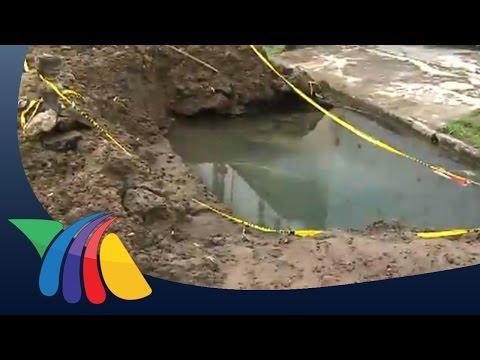 Fuga de agua representa peligro   Noticias de Veracruz