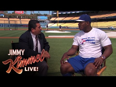 Guillermo's Yas-clusivo with Yasiel Puig