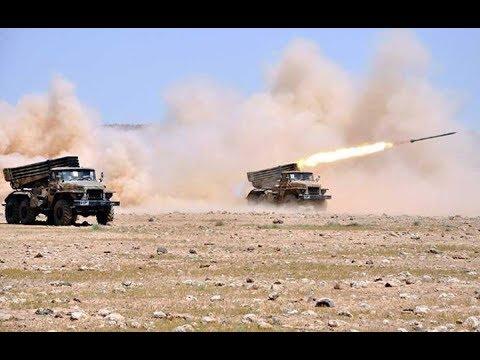 معركة حية بين الجيش المغربي والبوليساريو في الصحراء