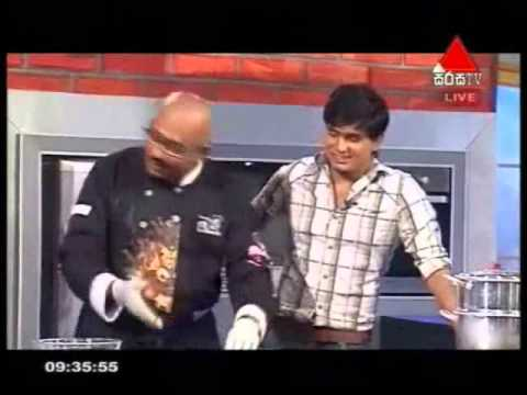 SIRASALINDAYA COOKERY SEGMENT WITH CHEF DUMINDA - 04.03.2014