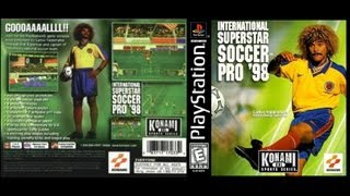 [PS1] International Superstar Soccer Pro 98 Gameplay