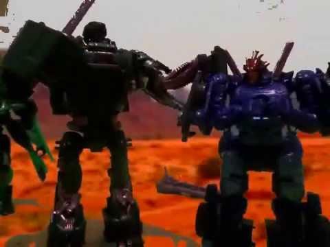 Transformers Age of Extinction Stop Motion Autobots Reunite
