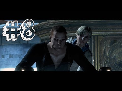 Resident Evil 6 Playthrough Part 8 - Sherry / Jake Campaign Chapter End - TANK