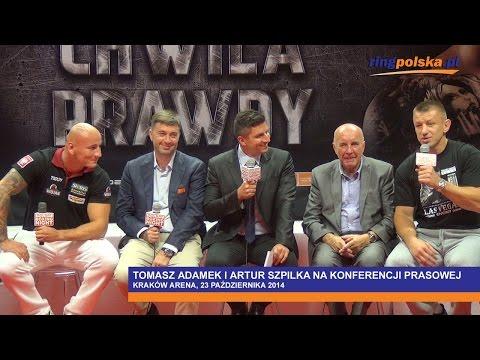 Adamek vs Szpilka: Konferencja prasowa w Krakowie     ::: Adamek vs Szpilka