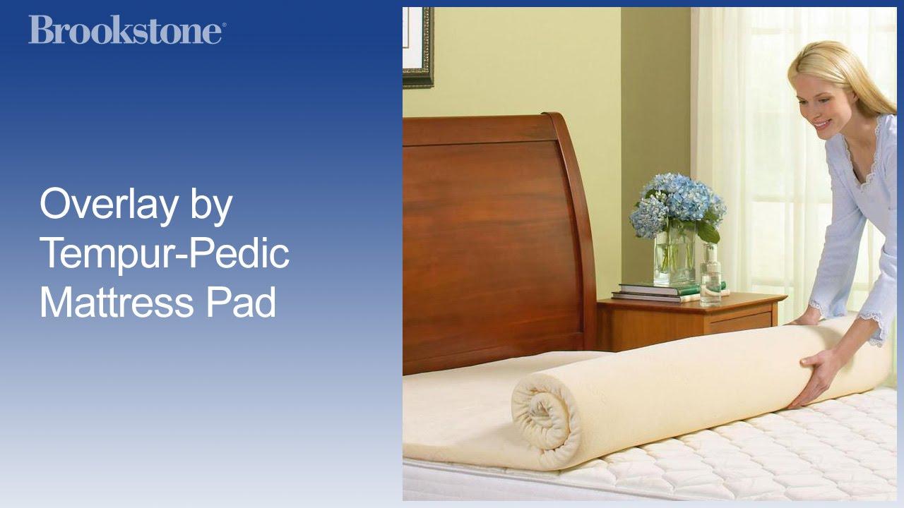 tempur pedic mattress pad youtube. Black Bedroom Furniture Sets. Home Design Ideas