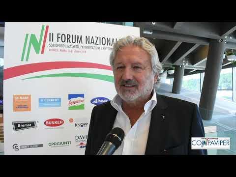 II Forum Nazionale Conpaviper: il commento del vicepresidente onorario Penati