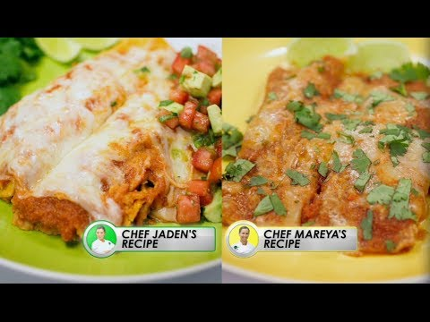 Recipe Rehab TV, Season 1: Healthier Cheese Enchiladas
