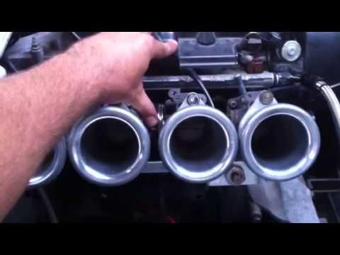 Работа двигателя 3S-GE с пропусками зажигания