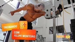 Treino de tríceps com Felipe Monteiro