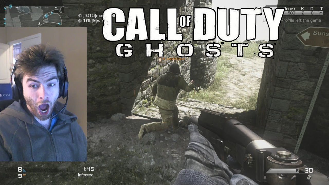 Call of Duty Ghost Infected