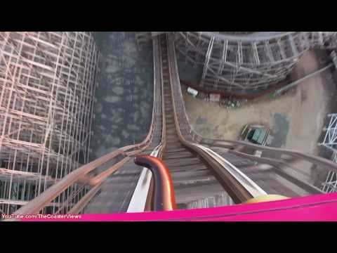 El Toro Front Seat (HD POV) On-Ride Six Flags Great Adventure Roller Coaster