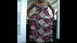MAXI DRESS HOW TO: Turn Your Too Long Maxi Dress Into A