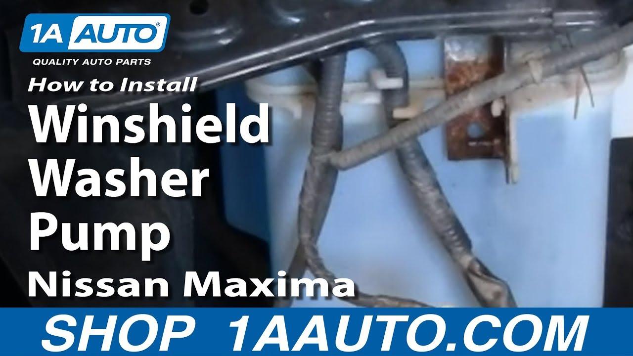 2000 Nissan altima windshield washer pump #8