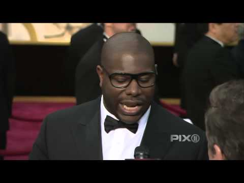 '12 Years A Slave' Director Steve McQueen At The 2014 Oscars