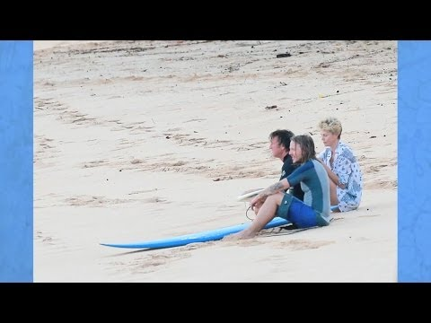 Sean Penn y Charlize Theron juntos en Hawaii