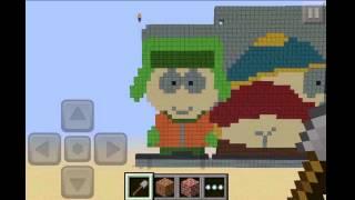 Video Minecraft PE SOUTH PARK Timelapse