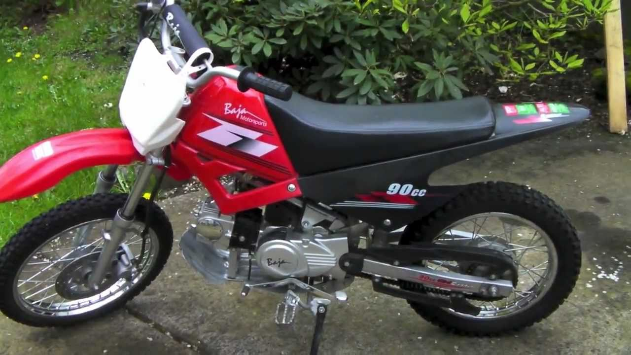 similiar baja cc keywords baja 90cc dirt bike runner cold start up walkaround