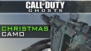 CoD Ghosts CHRISTMAS CAMO - DLC Camos
