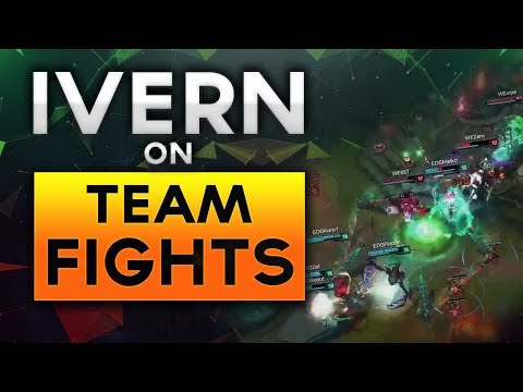 Free LoL Coaching: How To Team Fight with IVERN (Silver Gameplay Review)