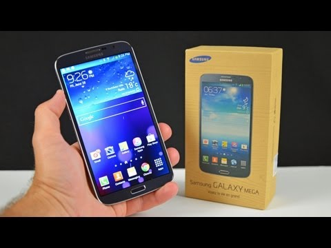 "Samsung Galaxy Mega 6.3"": Unboxing & Review, Detailed unboxing and review of the giant new Samsung Galaxy Mega 6.3"" with benchmarks and software demos. $500 Buy Here: http://goo.gl/6IDtE Specs: CPU: 1.7..."