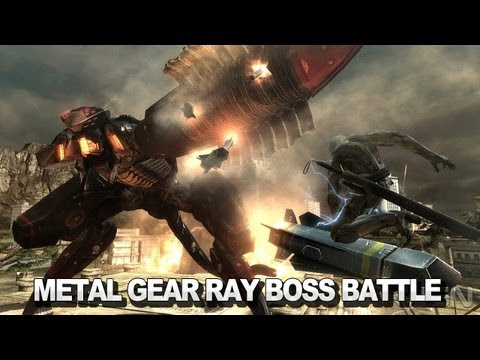 Metal Gear Rising: Revengeance  Metal Gear Ray Boss Battle