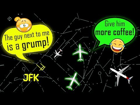 [FUNNY ATC] New York JFK Controllers BEING ALL A COMEDY in the early morning! =D