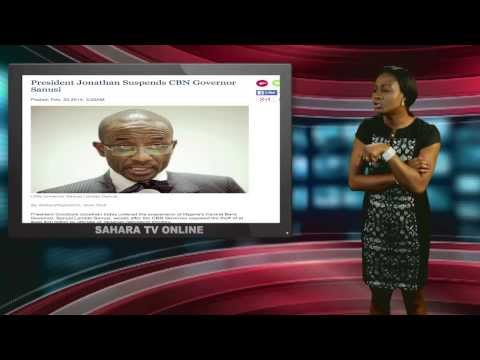 Keeping It Real With Adeola - Episode 111 (Jonathan Suspends CBN Governor, Sanusi)