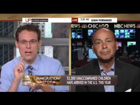 Rep. Gutiérrez on Central American refugees and immigration on MSNBC